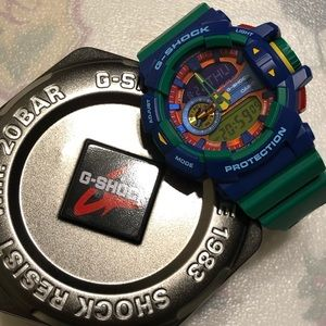 G-Shock watch.